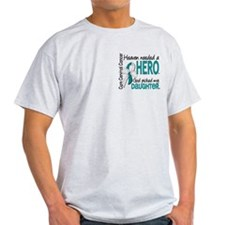 Cervical Cancer HeavenNeededHero1.1 T-Shirt