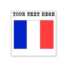 Custom France Flag Sticker