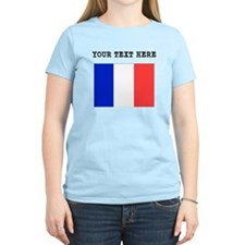 Custom France Flag T-Shirt
