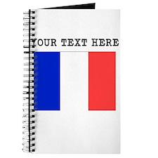 Custom France Flag Journal