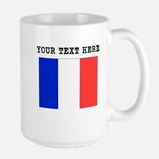 Custom France Flag Mugs