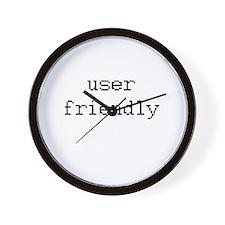 User friendly Wall Clock