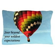 Soar beyond your wildest expectations, Pillow Case