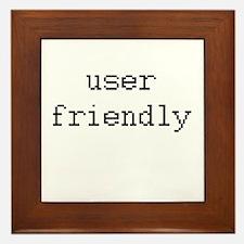 User friendly Framed Tile