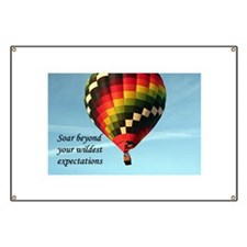 Soar beyond your wildest expectations, hot Banner