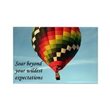 Soar beyond your wildest expectations 3 Magnets