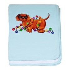 Shiny Dog baby blanket