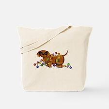 Shiny Dog Tote Bag