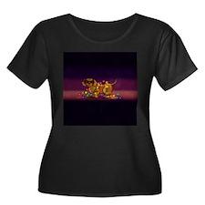 Shiny Dog Plus Size T-Shirt