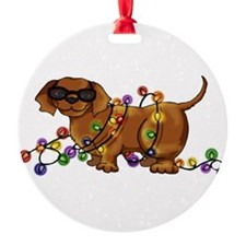 Shiny Dog Ornament
