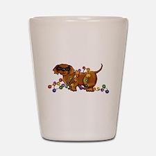 Shiny Dog Shot Glass