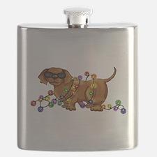 Shiny Dog Flask