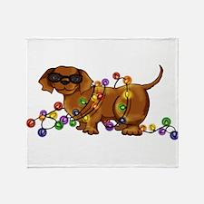 Shiny Dog Throw Blanket