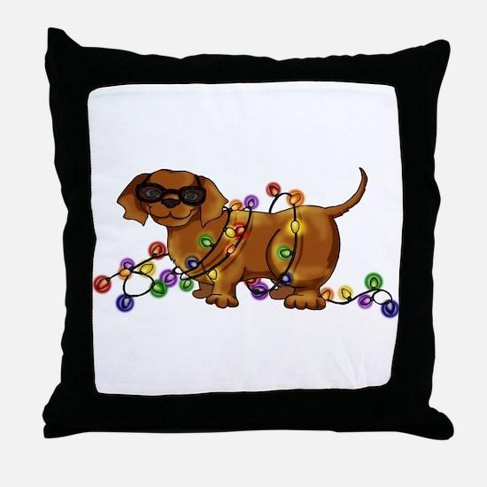 Shiny Dog Throw Pillow