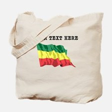 Custom Ethiopia Flag Tote Bag