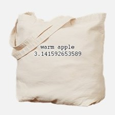 Warm 3.14159.. (Warm Pi) Tote Bag