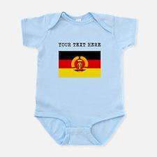 Custom East Germany Flag Body Suit