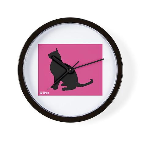 Cat iPet Wall Clock