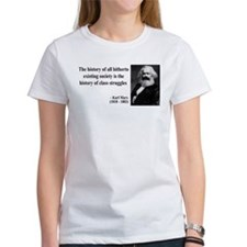 Karl Marx Quote 9 Tee