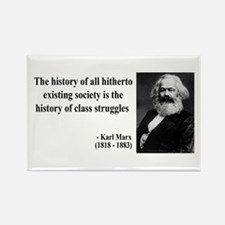 Karl Marx Quote 9 Rectangle Magnet (10 pack)