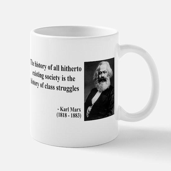 Karl Marx Quote 9 Mug