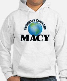 World's Coolest Macy Hoodie Sweatshirt