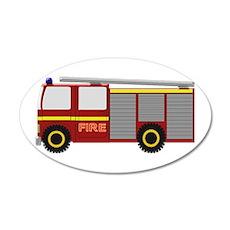 Fire Truck Wall Sticker