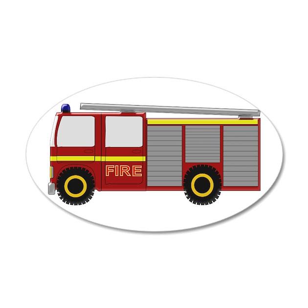 fire truck wall sticker by transportation1 create a mural fire truck wall stickers two sizes