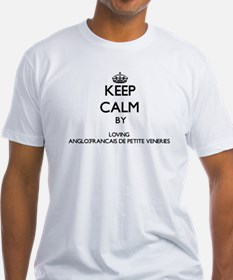 Keep calm by loving Anglo-Francais De Peti T-Shirt