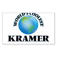 World's Coolest Kramer Decal
