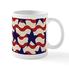 Americana Patriotic Ribbon Mug