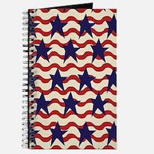 Americana Patriotic Ribbon Journal