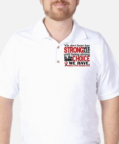 AIDS How Strong We Are Golf Shirt