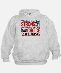 AIDS How Strong We Are Hoodie