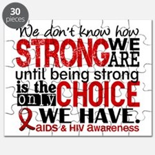 AIDS How Strong We Are Puzzle