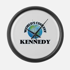 World's Coolest Kennedy Large Wall Clock
