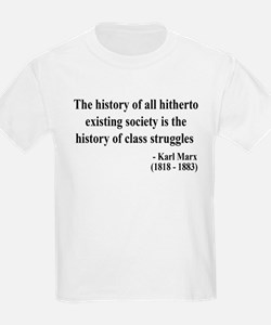 Karl Marx Text 9 T-Shirt
