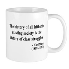 Karl Marx Text 9 Mug