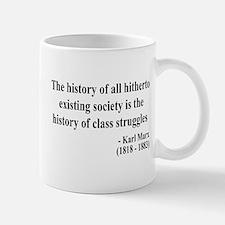 Karl Marx Text 9 Mug