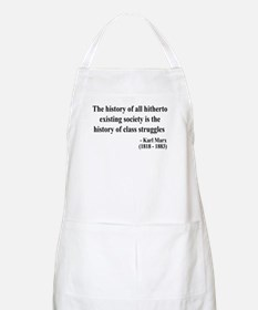 Karl Marx Text 9 BBQ Apron