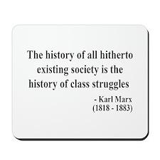 Karl Marx Text 9 Mousepad