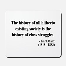 Karl Marx Text 9 Mousepad