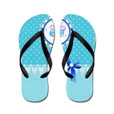 Cute Lace work Flip Flops
