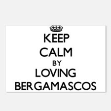 Keep calm by loving Berga Postcards (Package of 8)