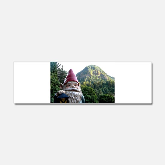 Mountain Gnome Car Magnet 10 x 3