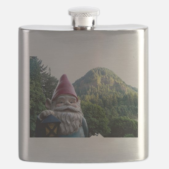 Mountain Gnome Flask