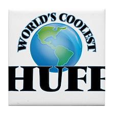 World's Coolest Huff Tile Coaster