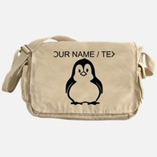 Custom Penguin Messenger Bag
