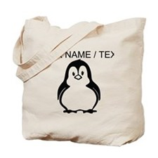 Custom Penguin Tote Bag