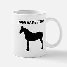 Custom Horse Silhouette Mugs